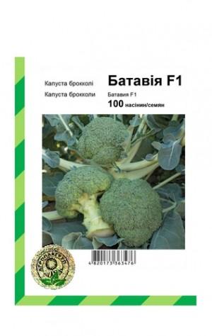Капуста брокколи Батавия F1 - 100 семян