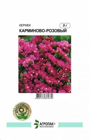 Кермек выемчатый Карминово-розовый - 5 грамм
