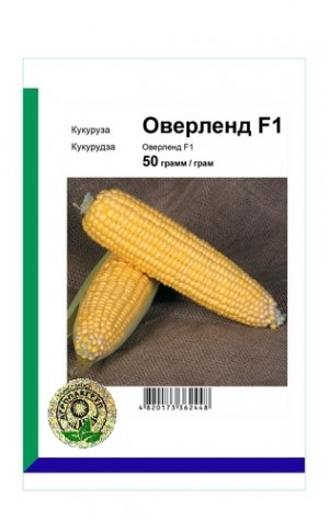 Кукуруза сахарная Оверленд F1 - 50 грамм