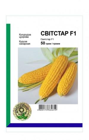 Кукуруза сахарная Свитстар F1 - 50 грамм