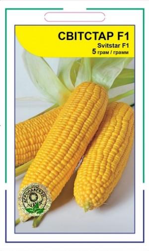 Кукуруза сахарная Свитстар F1 - 5 грамм