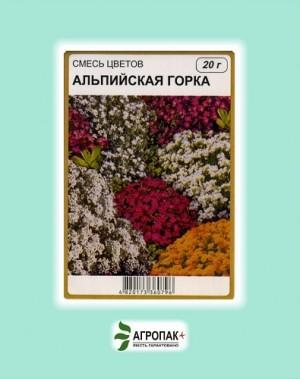 Семена цветочных смесей Альпийская горка - 20 грамм